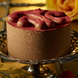 Raspberry Mousse Mini Cake
