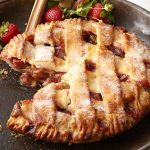 Strawberry Rhubarb Pie for dcb site