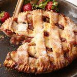 Strawberry Rhubarb Pie for dcb site