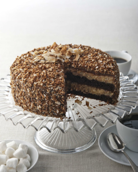 German Chocolate Cakes for dallas delivery and shipping nationwide
