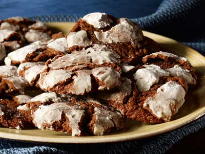 Image Result For Chocolate Crinkles Using Cake Flour