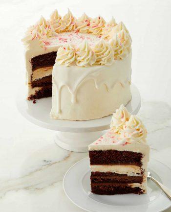 Peppermint Fudge Cake Neiman Marcus Exclusive Dark Chocolate Bakery-1
